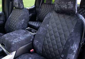 custom seat covers diamond quilting