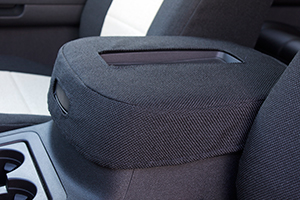 custom seat covers hard console lid cover