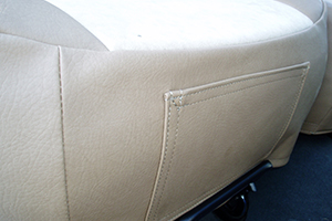 custom seat covers front pockets